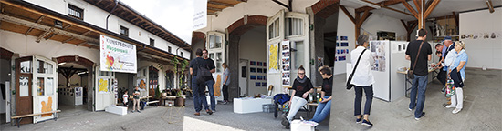 vor der Kunstschule Rapperswil