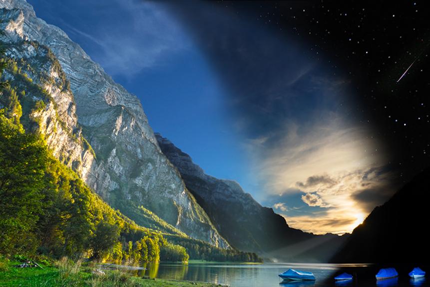 Landschaftsfotografie-Bergsee-Fotoexkursion