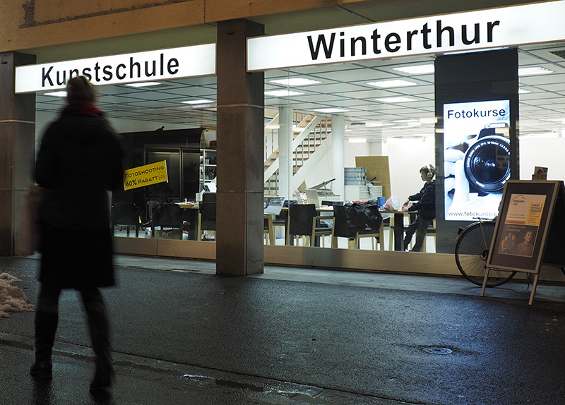 Fotoschule in Winterthur Kunstschule CLRW