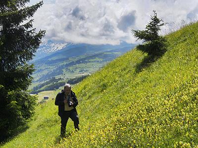 ein Paradies für Naturfotografen : fotografiert bei der Fotoexkursion im Lugnez