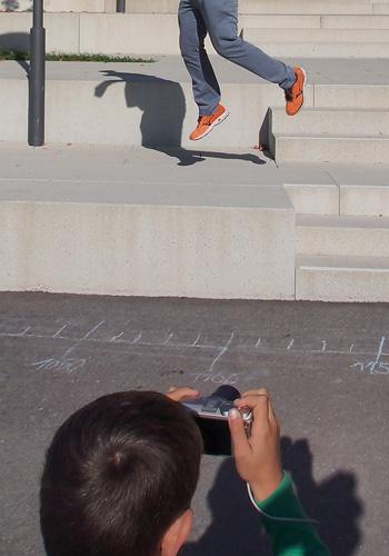 Kinder fotografieren Action Kinderfotokurs