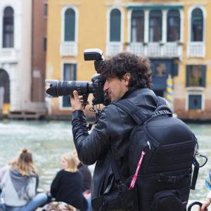 Fotograf in Venedig