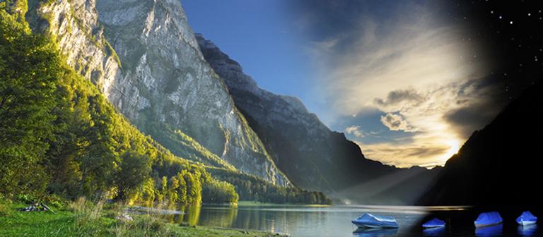 Fotoworkshop -Landschaftsfotografie-Stimmungsbilder-am-Bergsee
