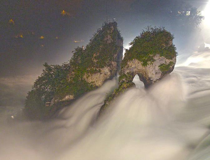 Rheinfall-nachts-Fotokurs
