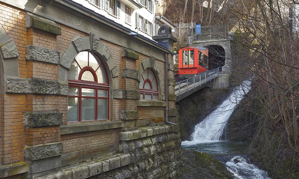 Station-der-Bergbahn- in St.Gallen