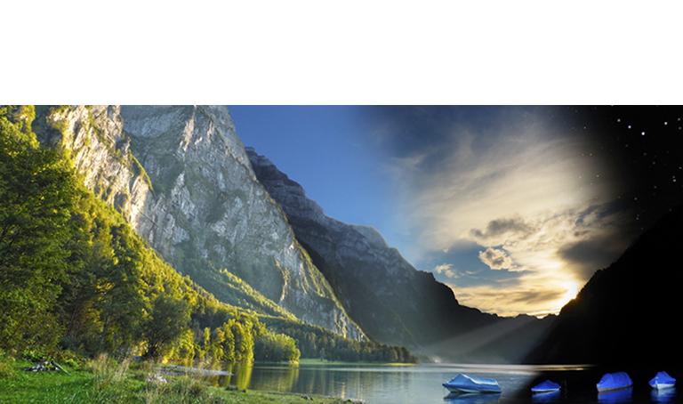 Fotoworkshop-Landschaftsfotografie Stimmungsbilder-am-Bergsee-Header