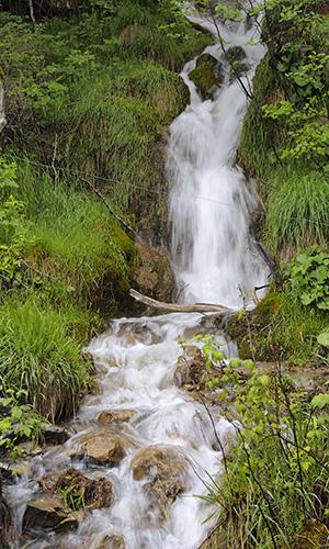 Wasserfall Foto-Exkursion Val-Lumnezia