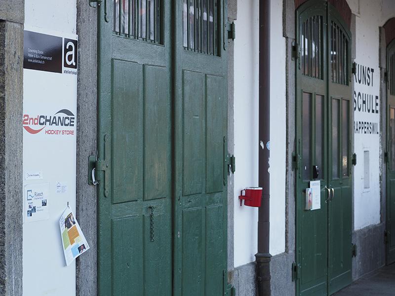 fotokurse.COM Beschilderung Standort Kunstschule Rapperswil